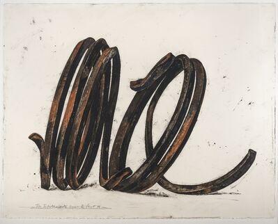 "Bernar Venet, '""Two Indeterminate Lines"" ', 1996"