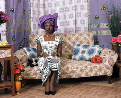 Mickalene Thomas, 'Two Wives: Nollywood #1', 2010