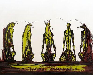 José Bedia, 'Nuevas Enseñanzas', 2019