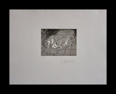 Pablo Picasso, 'Jeune Femme et Mousquetaire Young Woman & Musketeer', 1968