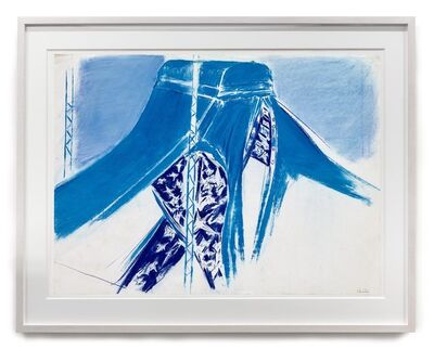 Denzil Forrester, 'Study for Blue Tent', 1984