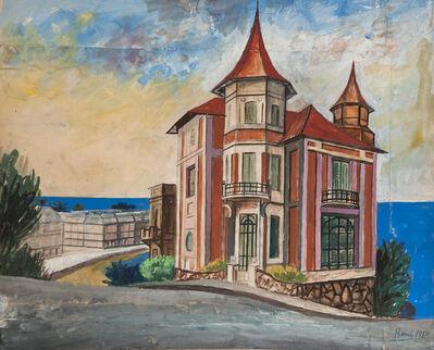 """Antonio Berni, 'Sin Título (Residencia de Enrique de Carabassa). De la serie """"Mar del Plata""""', 1950"""