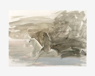 Siegfried Anzinger, 'Untitled I', 2004
