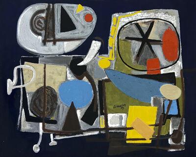 Corneille, 'Mushroom Pickers', 2004