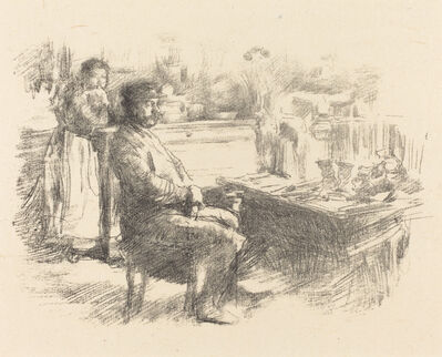 James Abbott McNeill Whistler, 'The Shoemaker'