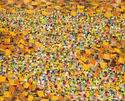 Ablade Glover, 'Market Scene', 2019