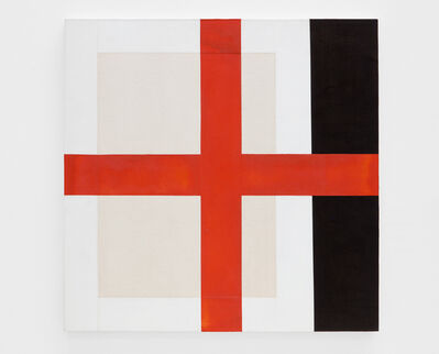 Harvey Quaytman, 'Red/Clay', 1989