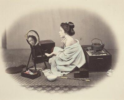 Felice Beato, 'Woman at Toilette', 1867-1868