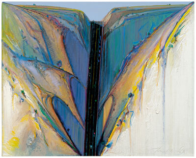 Wayne Thiebaud, 'Road Through', 1983
