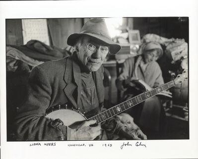 John Cohen, 'Sidna Myers, Hillsville, VA', 1965