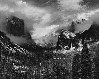 Ansel Adams, 'Clearing Winter Storm, 1935', 1935