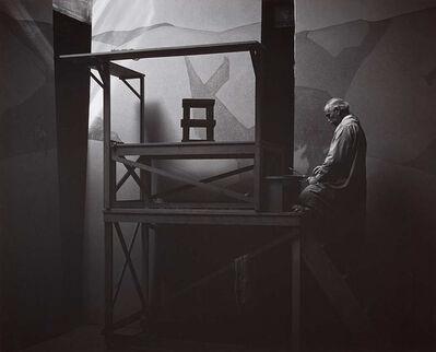 Ansel Adams, 'Gottardo Piazzoni In His Studio, San Francisco', 1932