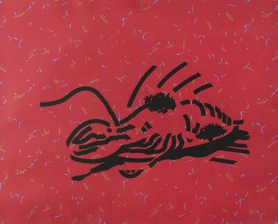 Patrick Caulfield, 'Dressed Lobster (Cristea 63)', 1980