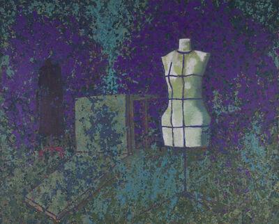 Mao Xuhui 毛旭辉, 'Pruple Garden', 2014