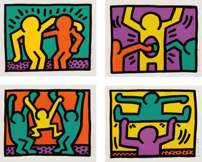 Keith Haring, 'Pop Shop I, Complete Set of 4 works', 1987