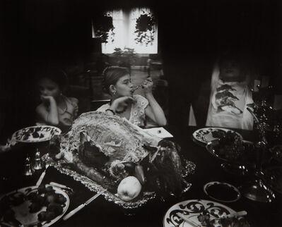 Sally Mann, 'Three wolves', 1992