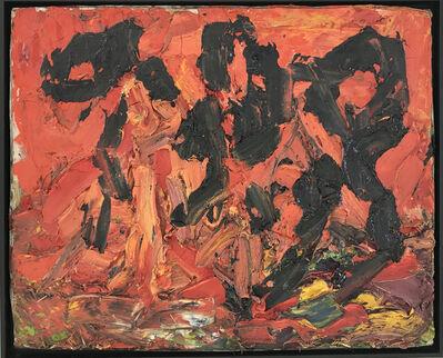 Franz Grabmayr, 'Drei Tänzerinnen vor Feuer', 1990-2000