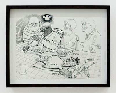 Trenton Doyle Hancock, 'Christmas Dinner', 2010