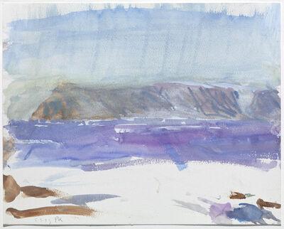 Per Kirkeby, 'Qaanaaq, 5-9-93'
