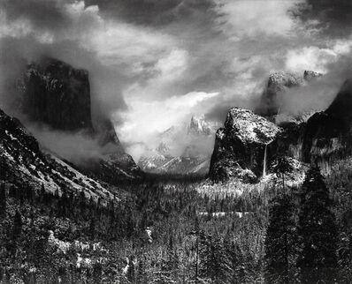 Ansel Adams, 'Clearing Winter Storm, Yosemite, 1938', 1938