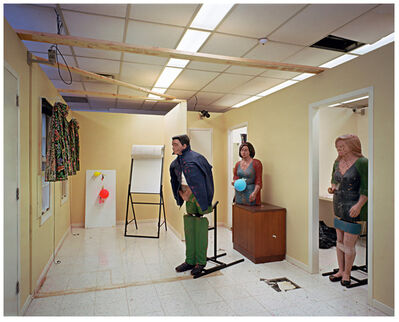 Lynne Cohen, 'Untitled (classroom, police school, balloons)', 2007