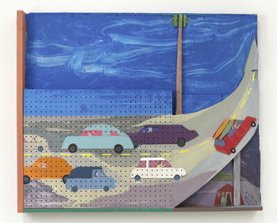 Chris Johanson, 'You Don't Know Shit (Los Angeles Landscape Painting no.7)', 2014