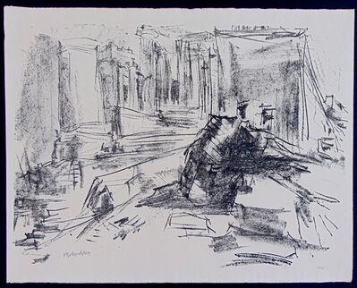 Oskar Kokoschka, 'Propylaea II, from: Homage to Hellas Volume II | Propylaen II, aus der Serie Bekenntnis zu Hellas II', 1961-62