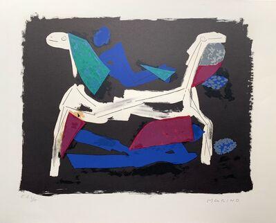 Marino Marini, 'Marino Marini- Chevaux et cavaliers I ', 1972