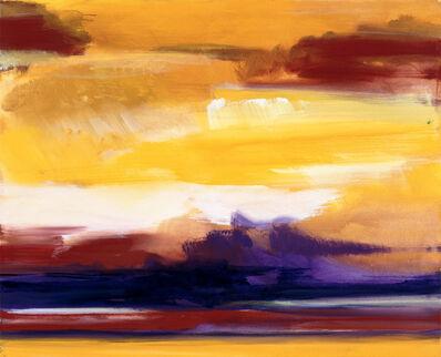 Bernd Zimmer, 'Tiefe Wolken', 2007