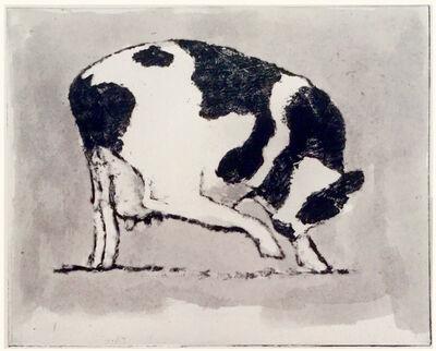 Jack Boul, 'Cow Scratching', 2018