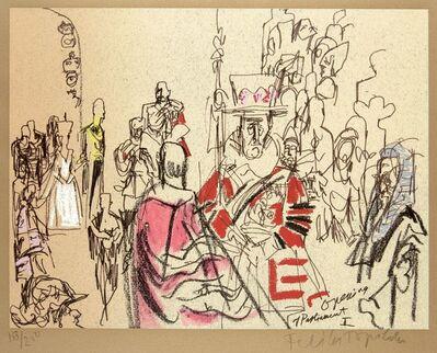 Feliks Topolski, 'Opening of Parliament I & II'