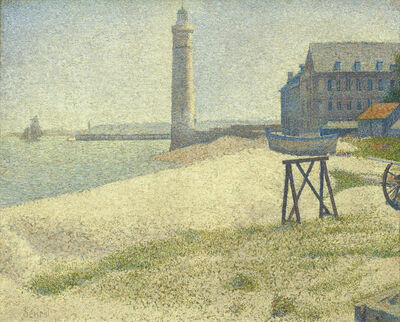 Georges Seurat, 'The Lighthouse at Honfleur', 1886