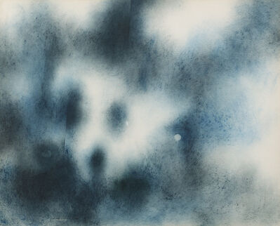 Norman W. Lewis, 'Composition in Blue Tones', 1960