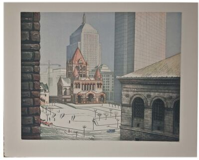 Richard Haas, 'Copley square, Boston', 1993