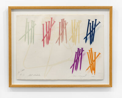 James Rosenquist, 'Short Schedule ', 1972