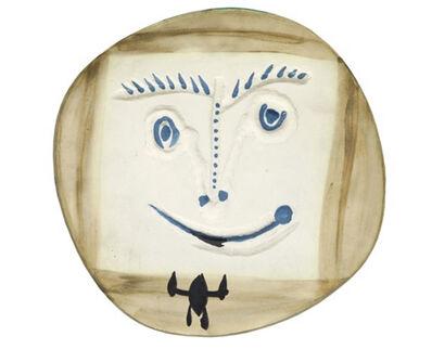 Pablo Picasso, 'Visage à la cravate', 1960
