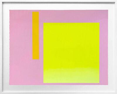 Rupprecht Geiger, 'Metapher Zahl Vier', 1985-89
