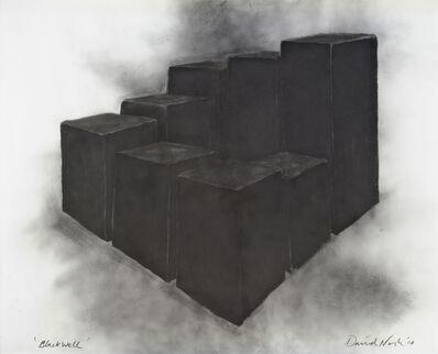 David Nash, 'Black Well', 2008