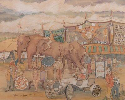 Reynolds Beal, 'Circus', 1928