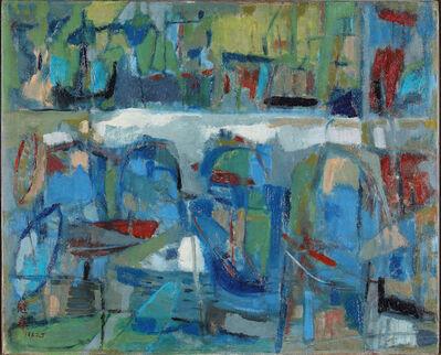 Liao Chi-Chun 廖繼春, 'The Bridge', 1963-1965