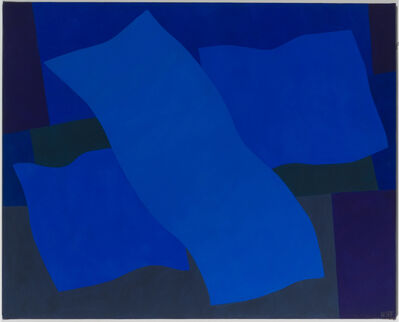 Margo Hoff, 'Flying Blue', 1979