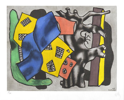 Fernand Léger, 'La Racine Grise (The Gray Root)', ca. 1953