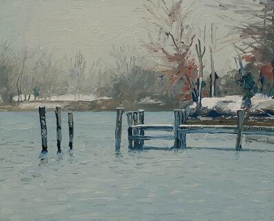 David Leonard, 'Winter Cove'