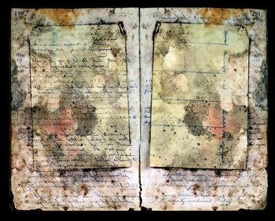 James Sansing, 'Abandoned Juvenile Hall Ledger, Unopened Envelope', 2016