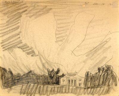 Lyonel Feininger, '(Villa am Strand, Villa Oppenheim, Heringsdorf)', 1912