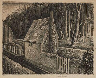 Graham Sutherland, 'Cottage in Dorset, Wood End [Tassi 28]', 1929