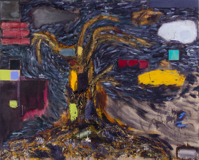 Joan Snyder, 'Paint/Tree', 1990