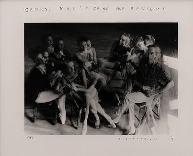 Duane Michals, 'George Balanchine and Dancers', 1960