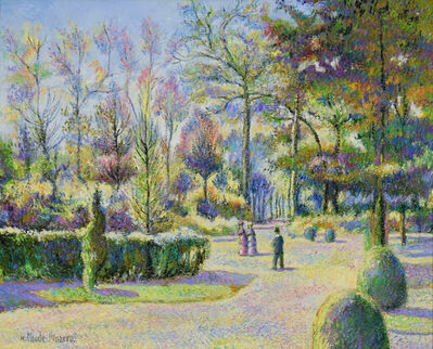 Hugues Claude Pissarro, 'Octobre à Bonneville-la-Louvée', 21st century