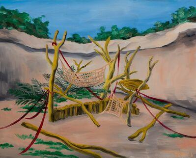 HUANG HAI-HSIN, 'Patas Monkey 赤猴', 2018